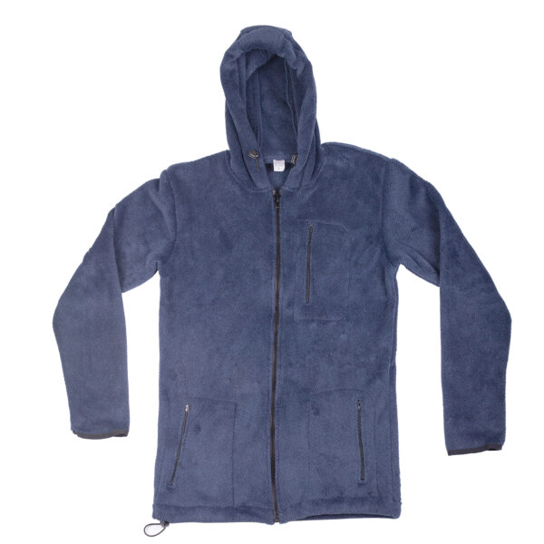 Blue Full Zip Jacket by Solution Clothing